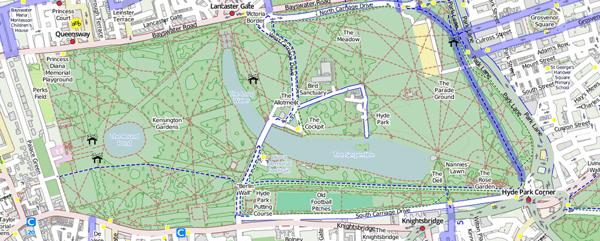 Cycle Tourists Guide To Londons Royal Parks