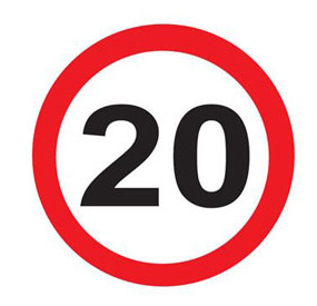 20mph comes to central London
