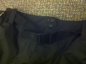 Elasticated waistband and belt