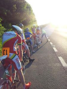 The start line of the Redhill CC Club 10