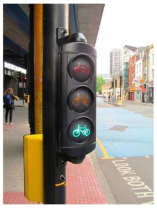 Cycle specific bike signals