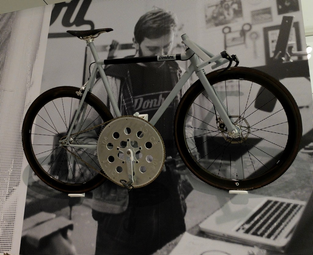 Hand built bike