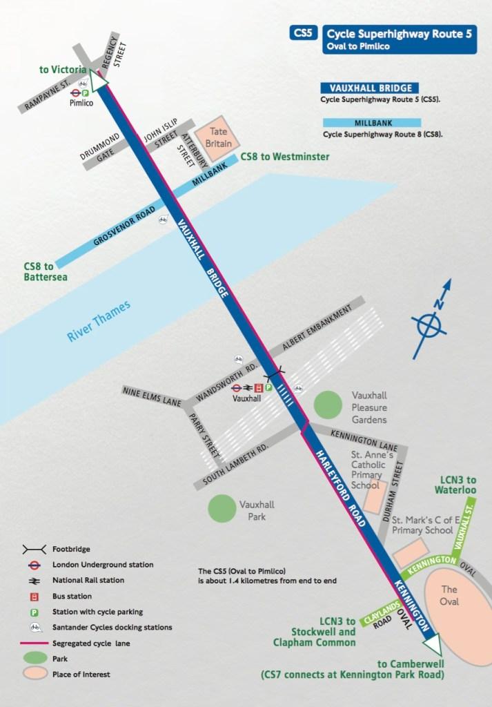 CS5 existing route