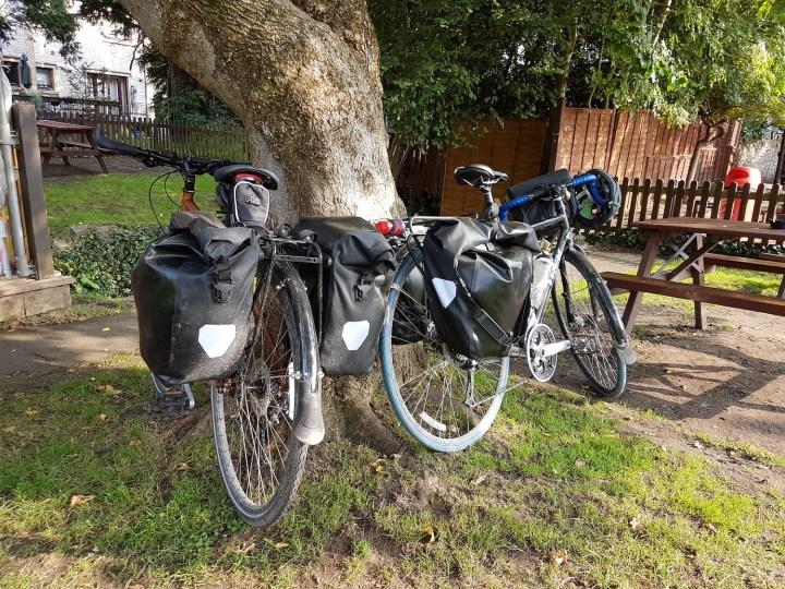 Bikes at the pub