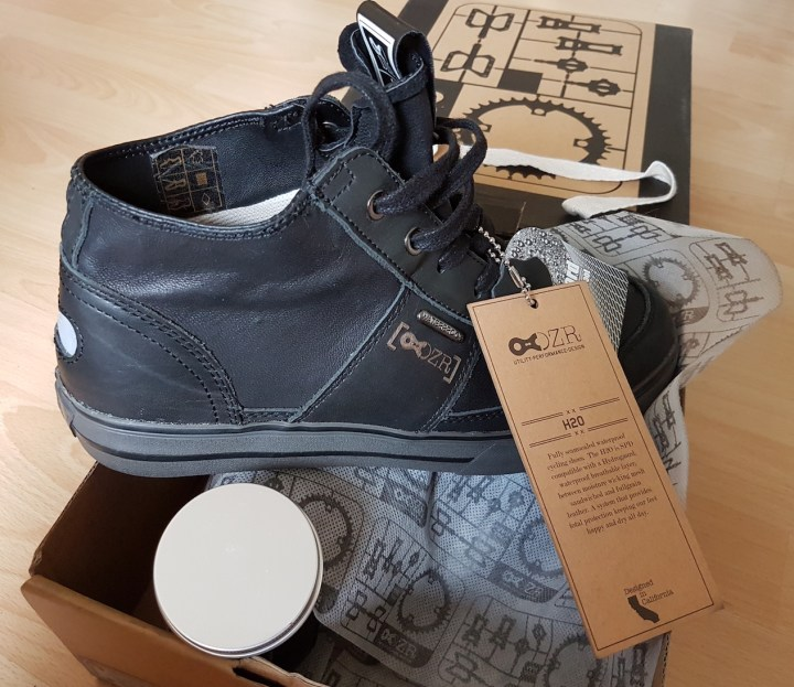 DZR waterproof cycling trainers