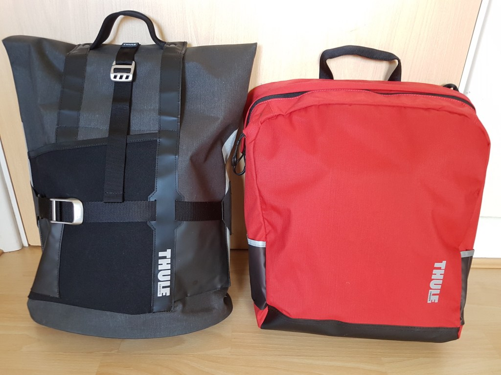 Commuter and Tote panniers