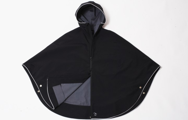Photograph of Otto_london black urban poncho