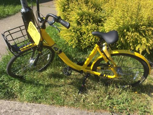 A Review of ofo Bikes and Shared Cycling in London