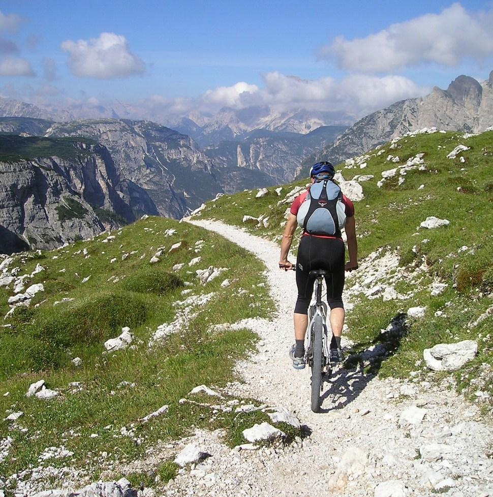 Bike tour in the mountains