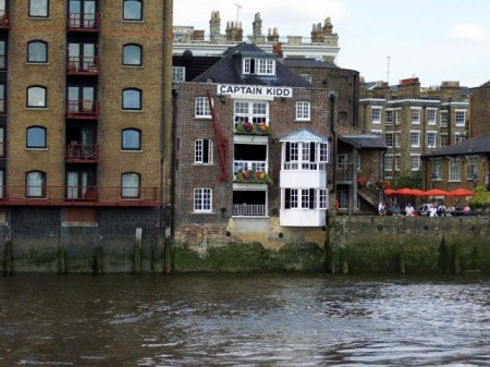 The Captain Kidd in Wapping