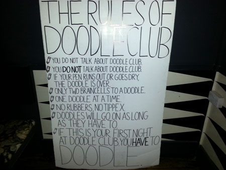 The Rules of Doodle Club at Drink Shop & Do