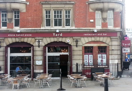 Yard Pizza Old Street