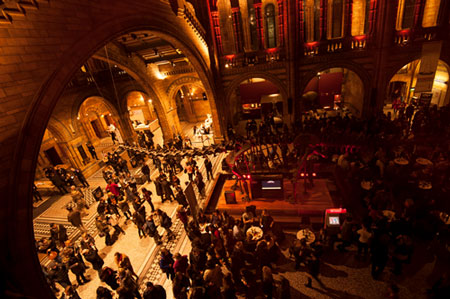 Natural History Museum Central Hall Lates