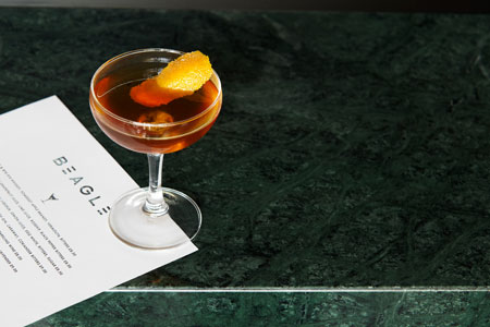 Cocktails at Beagle