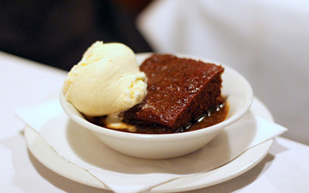 Andrew Edmunds Restaurant - Sticky-Toffee Pudding