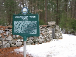 Londonderry NH Town Pound