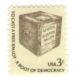 1977 ballot stamp