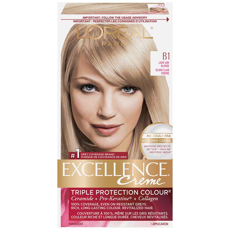 LOreal Excellence Creme B1 Light Ash Blonde London Drugs