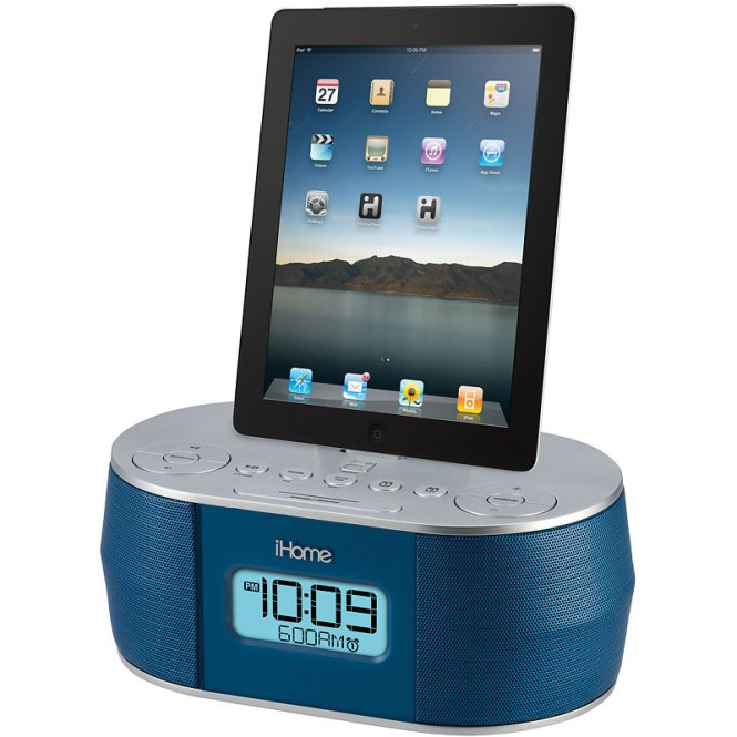 Ihome Dual Alarm Clock For Ipad Iphone