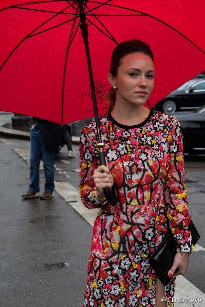 Elie Saab Street Style Paris Fashion Week FW17