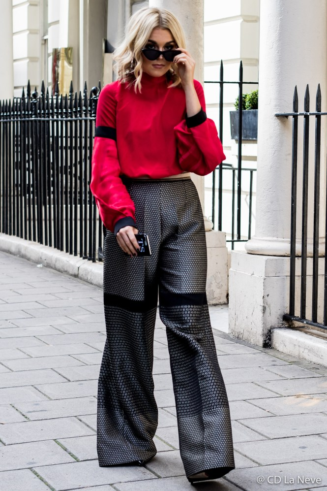London Fashion Week DAKS Street Style SS18 LFW