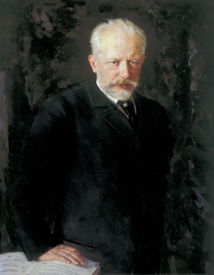Portrait of Pyotr Ilyich Tchaikovsky by Nikolai Kuznetsov