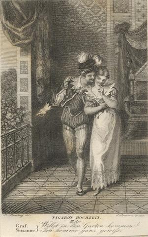Count Almaviva seducing Suzanna