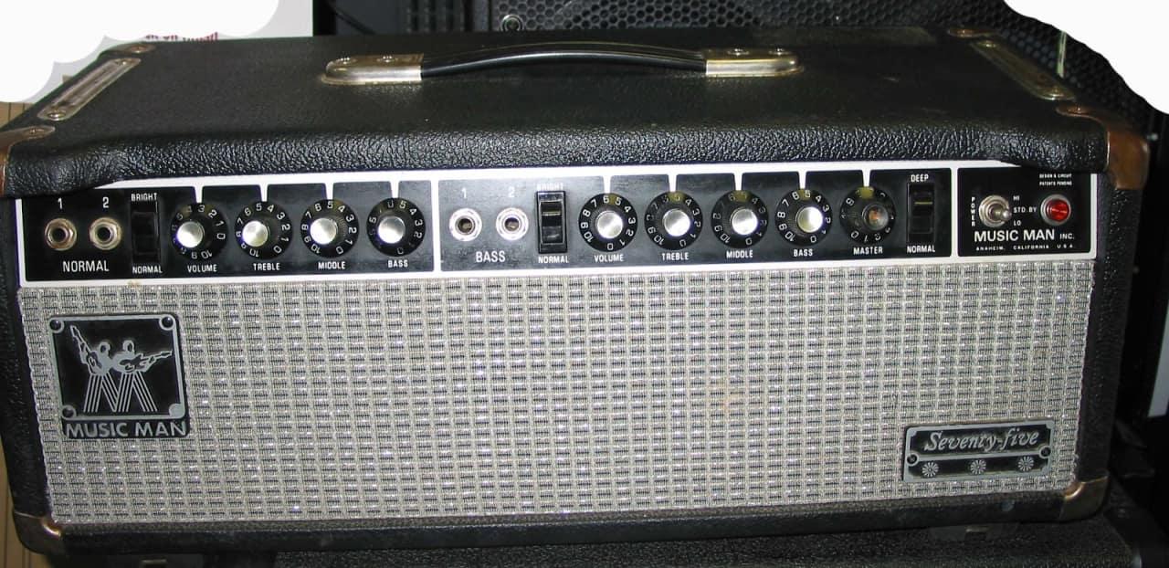 1981 MusicMan 75 Head 2100