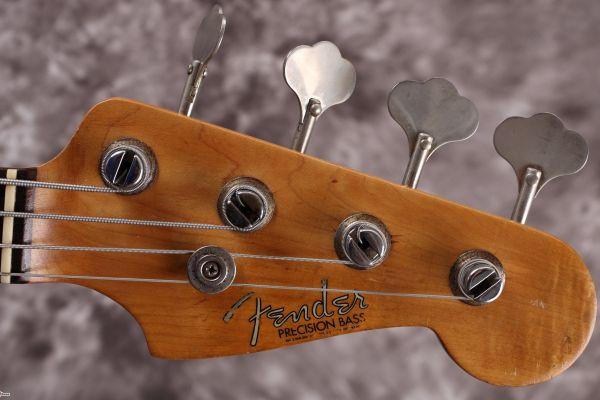 Precision Bass Repair Log
