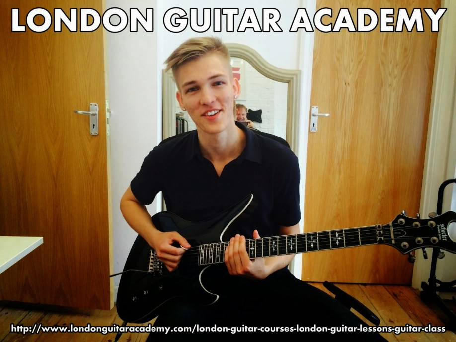 Guitar Lessons  London for all styles of music, ages, and levels in Central London,  including London City, Clerkenwell, Holborn, Shoreditch, Chancery Lane, Barbican, Blackfriars, Angel, Kings Cross, St. Pancras, Pentonville, Finsbury, Farringdon