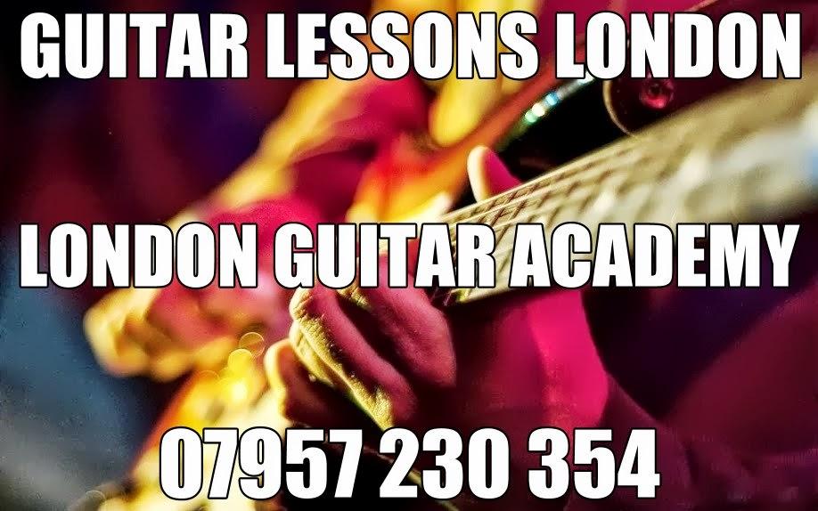Guitar Lessons Holborn Barbican Edgware Road Angel Baker Street Queensway Regent's Park