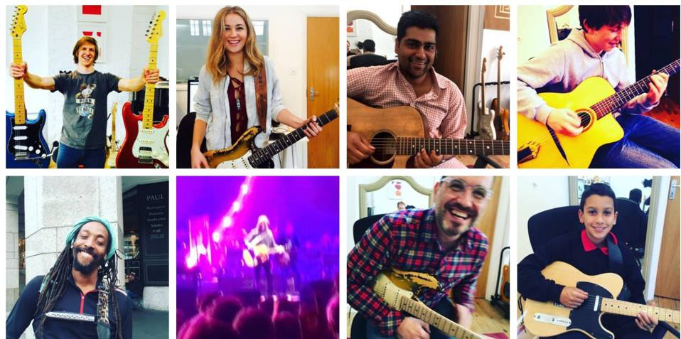 Guitar Lessons Oxford Circus Warren Street