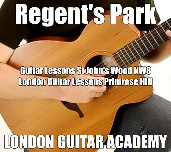 Guitar Lessons St John's Wood NW8 London Guitar Lessons Primrose Hill