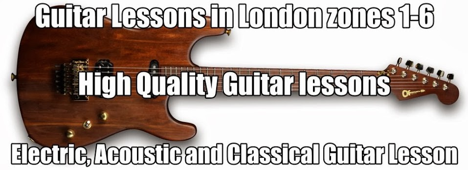 London Guitar Lessons Zones 1-6