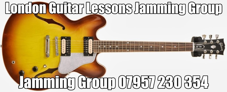 London Guitar Lessons Jamming group