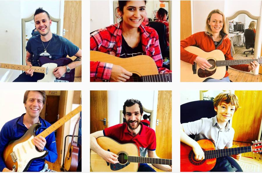 guitar lessons Wimbledon