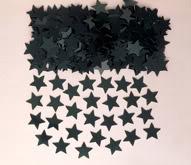 Black Stardust Table Confetti