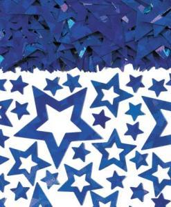 Blue star Shimmer table Confetti