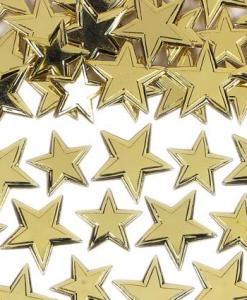 Irridiscent Gold Star Sprinkles