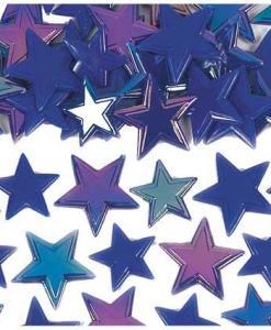 Irridisecent Blue Star Sprinkles