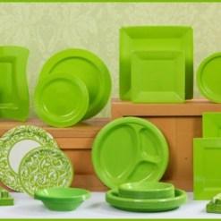Lime Green Tableware