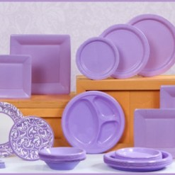 Lilac Tableware