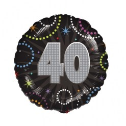 Age 40 Foil Balloons