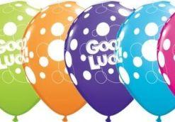 Good Luck Latex Balloons