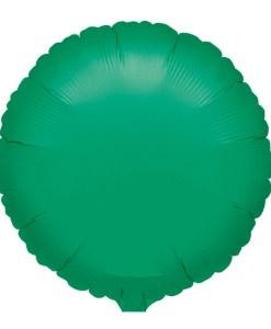 Metallic Green Helium Filled Foil Balloon