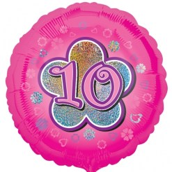 Age 2-13 Foil Balloons