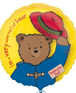 paddington bear Helium Filled Foil Balloon