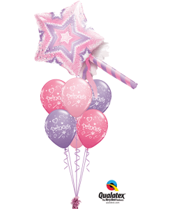 Fairy wand luxury bouquet at London Helium Balloons