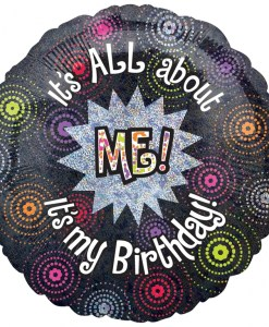All about me Birthday at London Helium Balloons