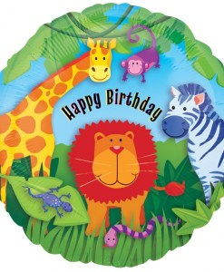 Jungle Animals Birthday at London Helium Balloons